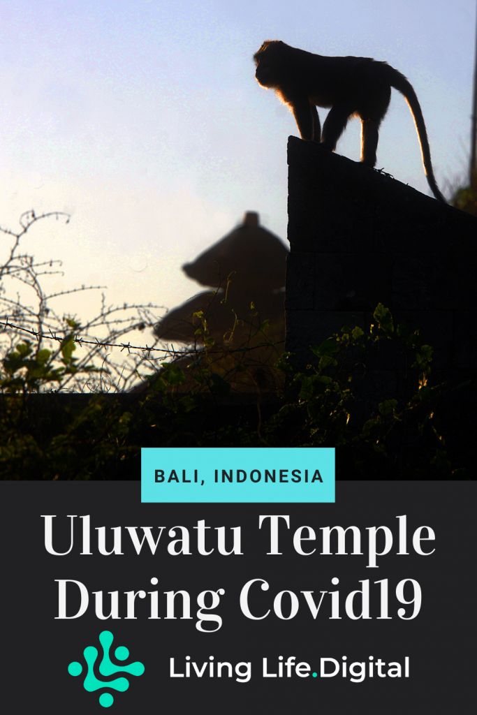 Uluwatu Temple During Covid19 - Bali, Indonesia